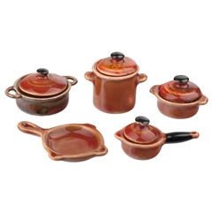 9-Pc. Rustic Cookware Set