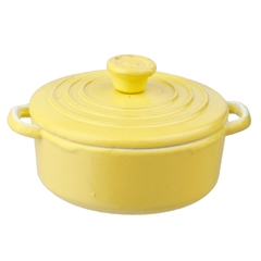 Yellow Dutch Oven
