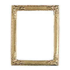 Holly Motif Ornate Gilded Picture Frame