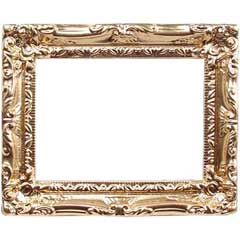 Large Ornate Gilded Picture Frame