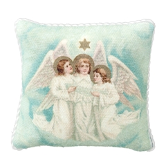 Three Angels Pillow