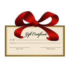 Mail-Order Gift Certificate